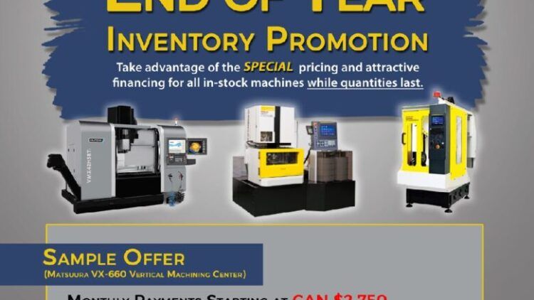 End of Year Inventory Promotion